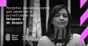 projeto senadora retirada dataprev e serpro programa de privatização